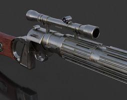3D printable model EE-3 Blaster Rifle
