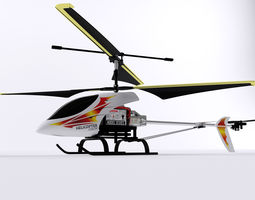 helicopter toy 3d model