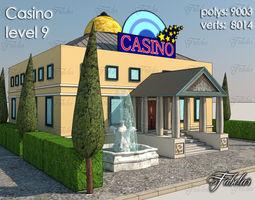3D asset Casino Level