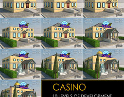 casino all 10 levels realtime 3d model