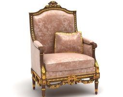 3D model Classic armchair 3