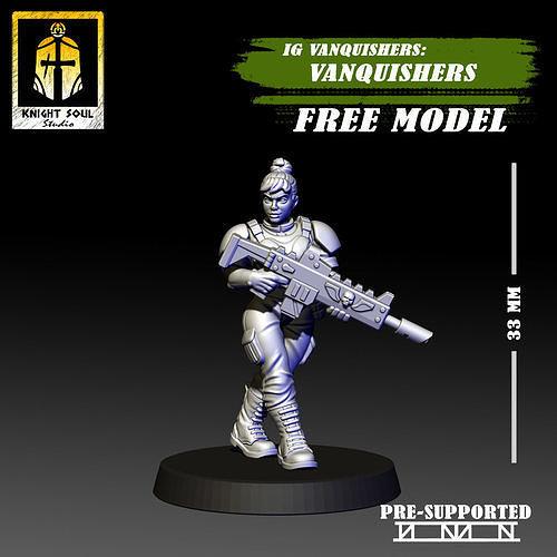 Vanquishers Shock Troops Free Model