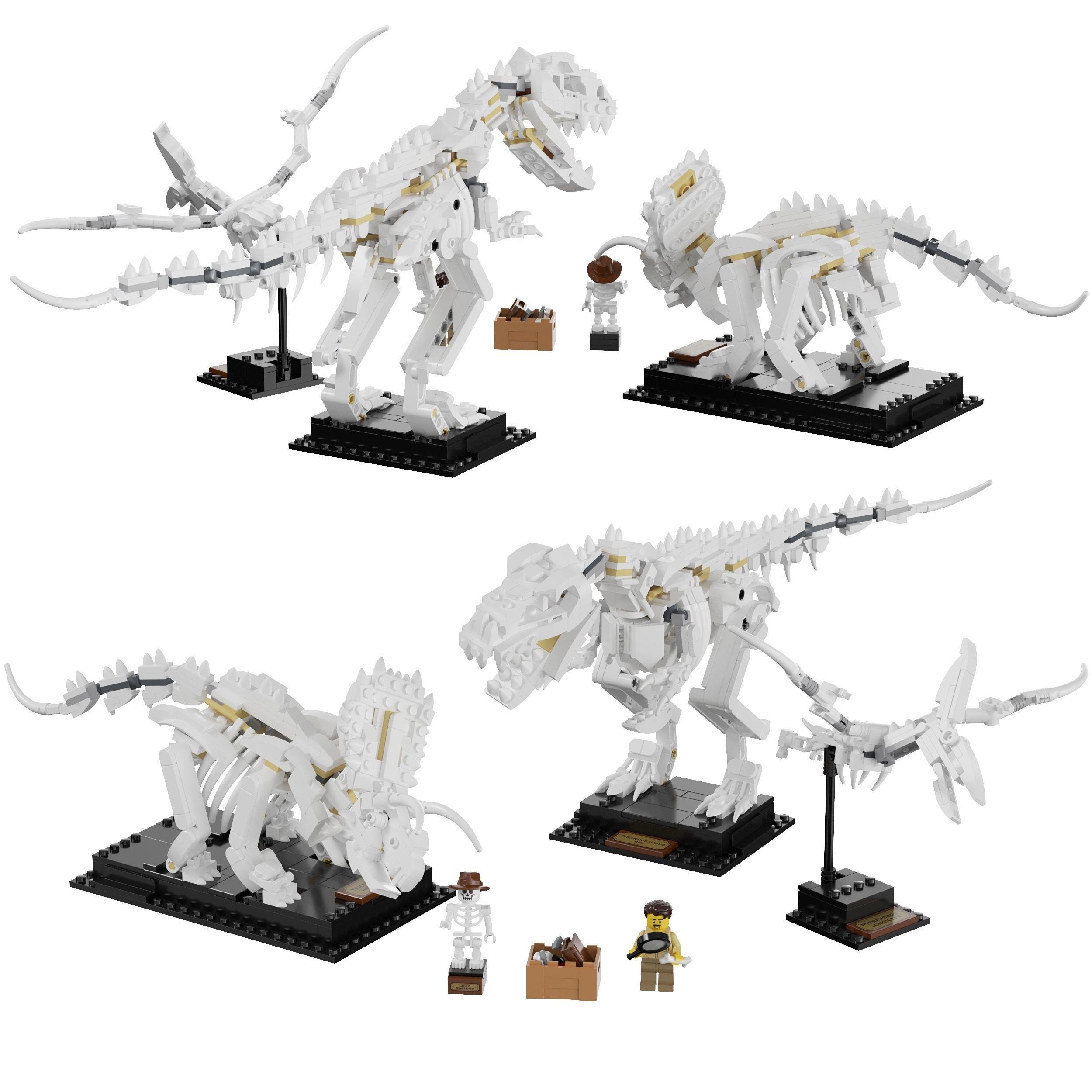 Lego - 21320 Dinosaur Fossils