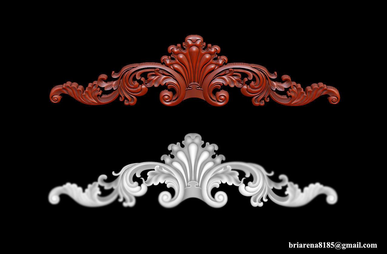Ornamental 3D Model