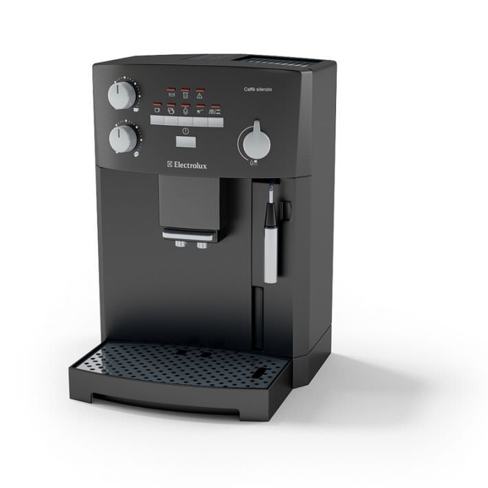 Coffee Maker From Electrolux : Coffee Maker Electrolux 3D Model - CGTrader.com