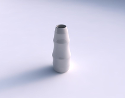 Vase Bullet with horizontal sections 3D Model