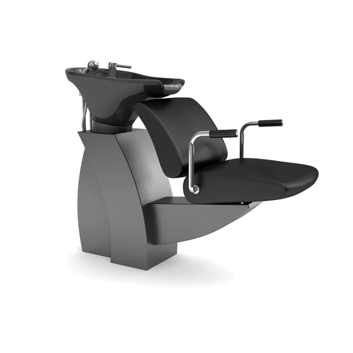 hair salon chair 3d model obj 1  sc 1 st  CGTrader & Hair Salon Chair 3D model | CGTrader