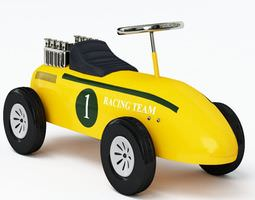 children pushcart racecar 3d