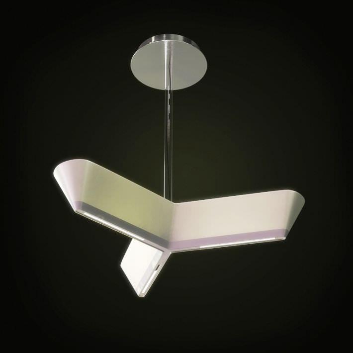 Modern White Hanging Lamp