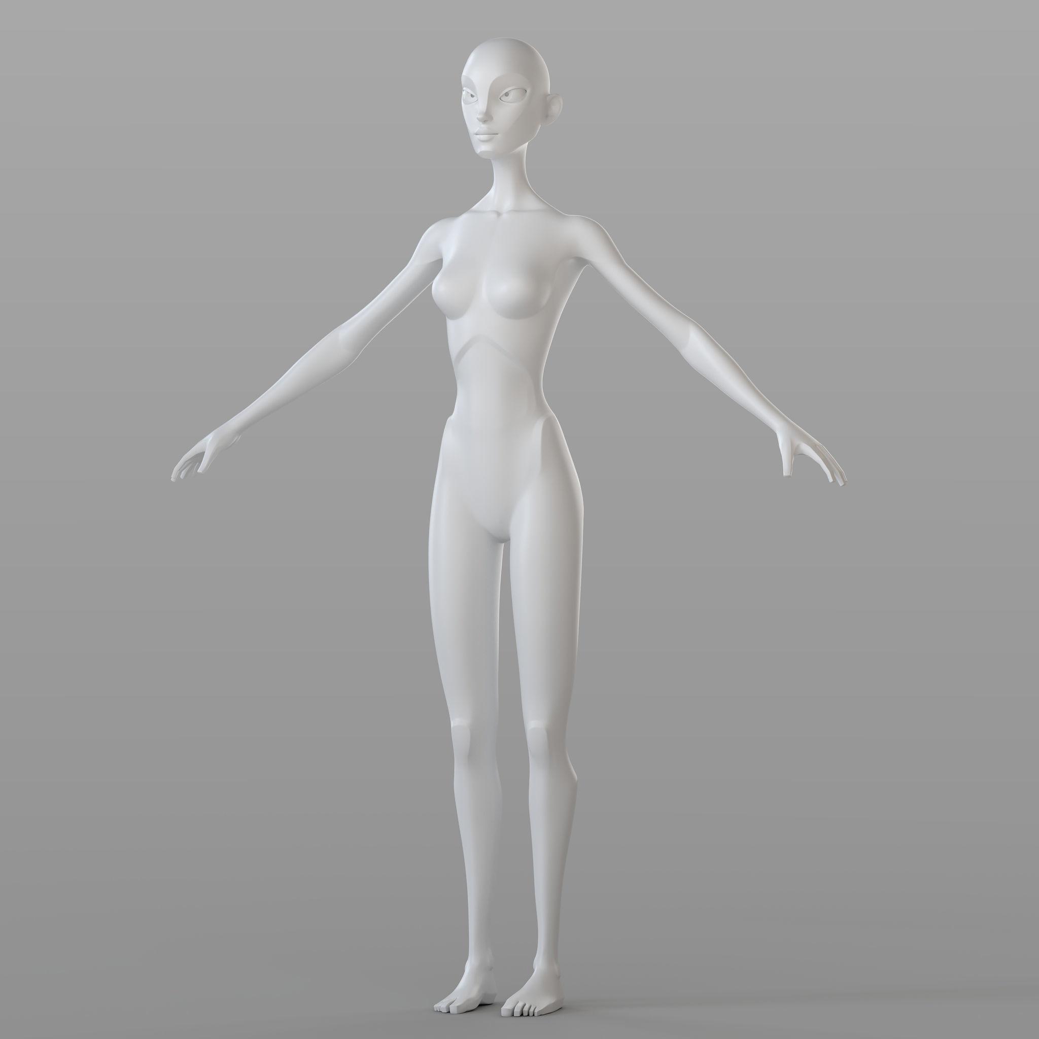 Stylised Female Base