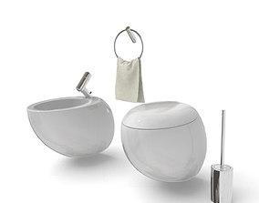 Modern Bathroom Set 3D
