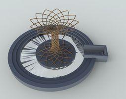 3D model tree of life expo 2015 Milan