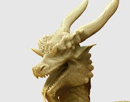 Dragon hi poly 3D Model