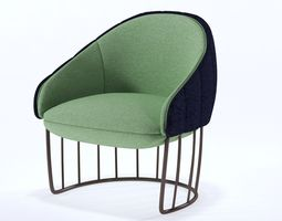 Tonella Chair 3D