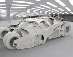 3D model BatmobileTumbler