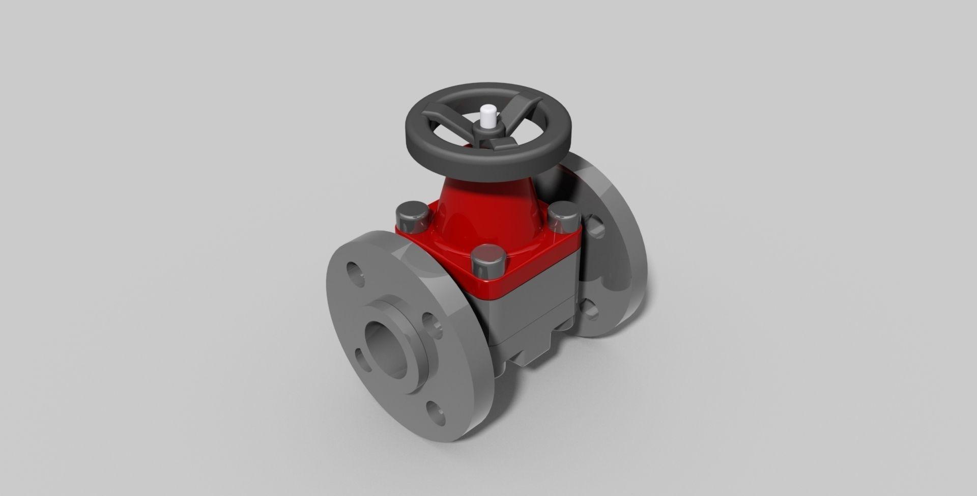 Dn32 pvc diaphragm valve with flanges autodesk inventor free 3d dn32 pvc diaphragm valve with flanges autodesk inventor 3d model ipt 2 ccuart Images