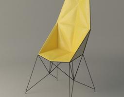 Mayflower Armchair 3D asset
