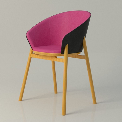 jacob nitz chair 3d model max obj mtl fbx ma mb 1