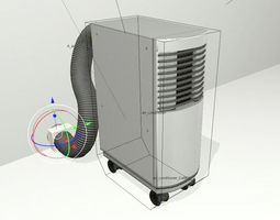 Air Conditioner Rigged 3D asset