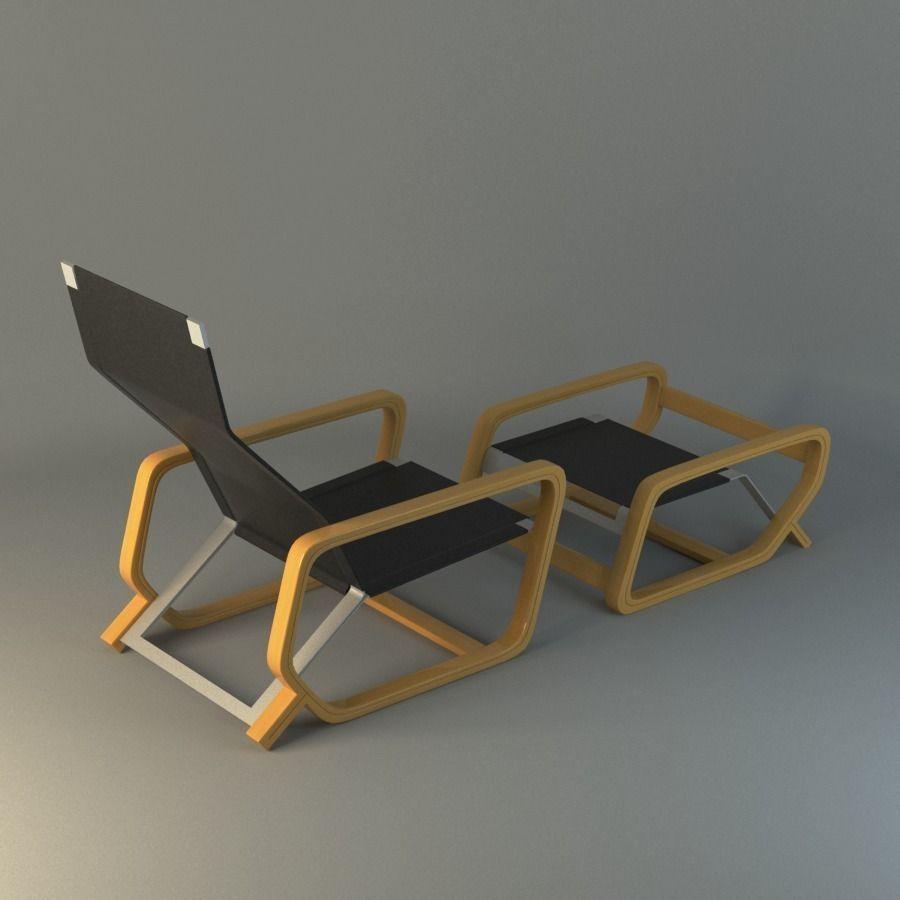Toro Lounge Chair 3D Model x obj fbx mb CGTrader