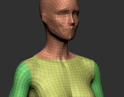 Female Base Mesh v2 3D Model