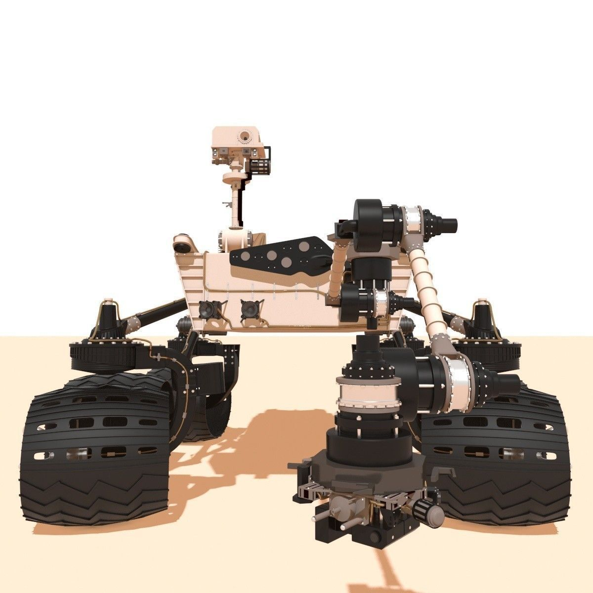 curiosity rover scale model - photo #23