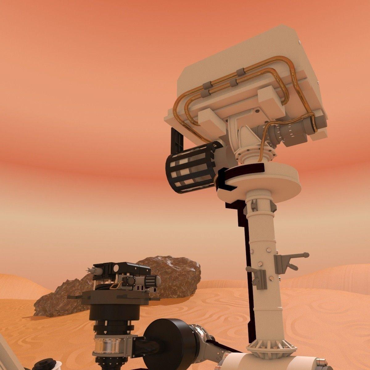 mars curiosity rover scale model - photo #39