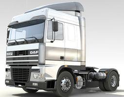 DAF95 XF Truck 3D Model