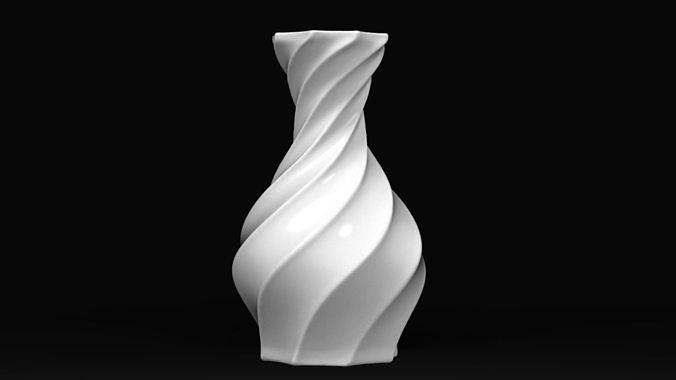 Twisted Vase STL for