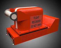3D model Flight Recorder