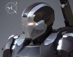war machine mk 3 - captain america civil war 3d printable model