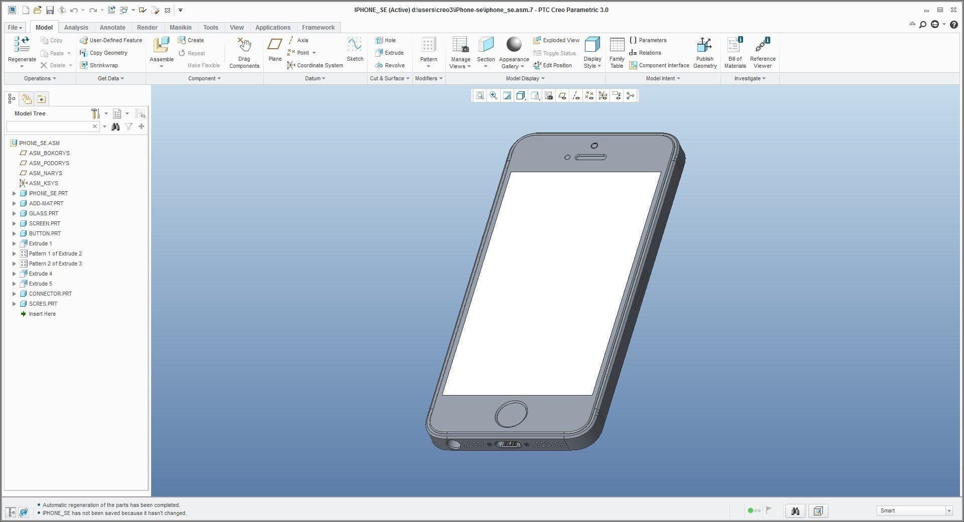 iPhone SE - original dimensions