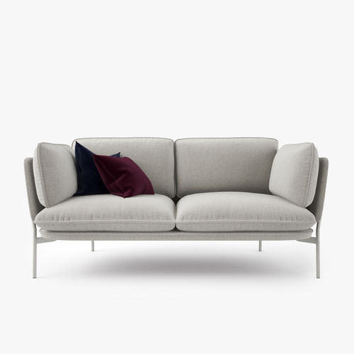 ... And Tradition Cloud Two Seater Sofa 3d Model Max Obj Fbx Mtl 4 ...