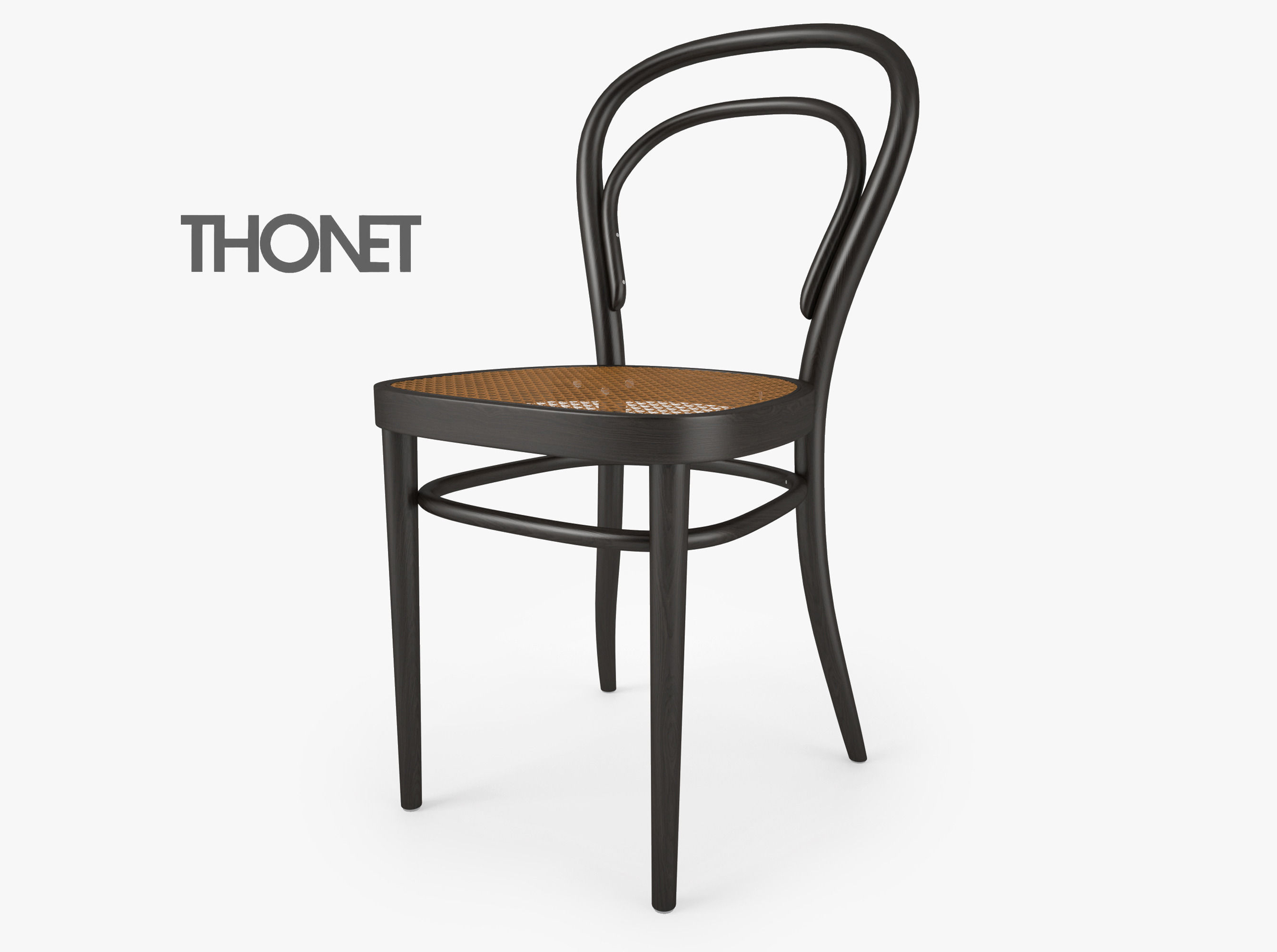 Thonet 214 Chair 3d Model Max Obj Fbx Mtl 1 ...