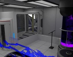 Scifi Interior Construction Kit - Basic 3D