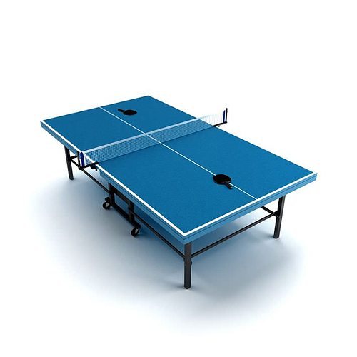 Ping pong table 3d model for Table ping pong