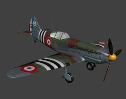 3D model Dewoitine D 520