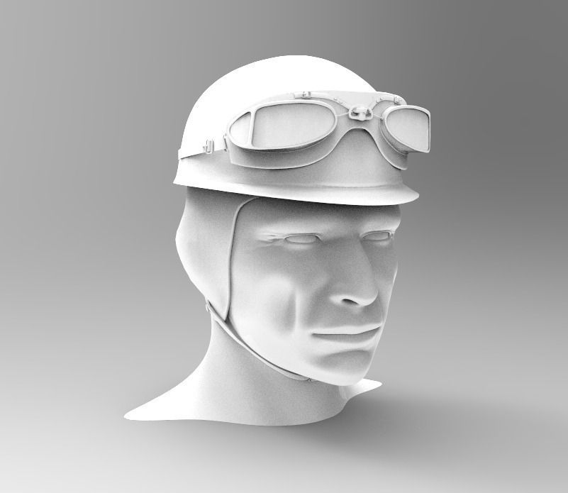 F1 Helmet 3d Model Free