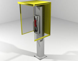 Phonebooth - Modern 3D Model