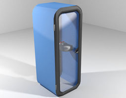 Phonebooth - Present 3D Model
