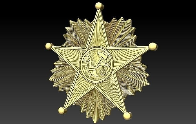 Badge Star shield