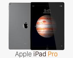 3D model Apple iPad Pro Space Gray