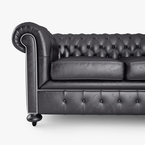 Sofa Chesterfield 3d william chesterfield sofa cgtrader