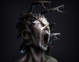 Medusa Bust 3D Model