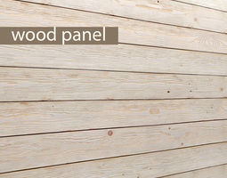 Wood panel 3D 10