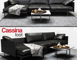 3D model Sofa Cassina toot