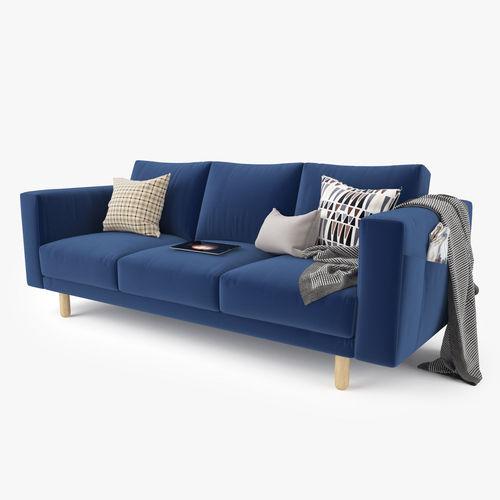 3D model Modern Sofa Set 01 CGTrader