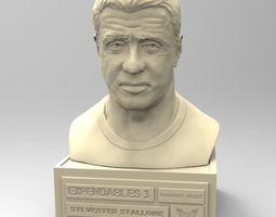 3D print model Sylvester Stallone