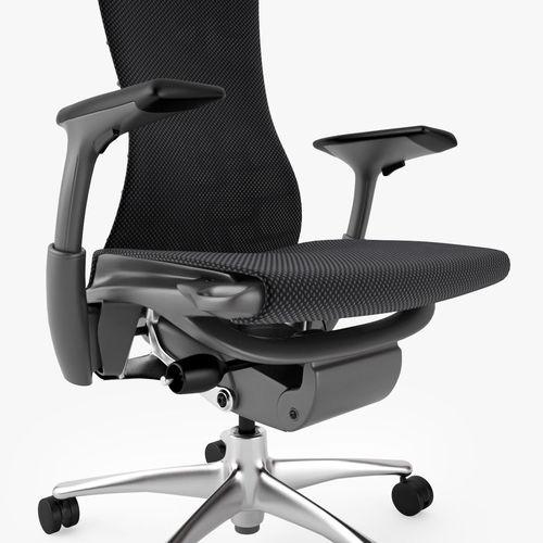 herman miller embody office chair 3d model max obj fbx mtl 6 - Herman Miller Embody Chair