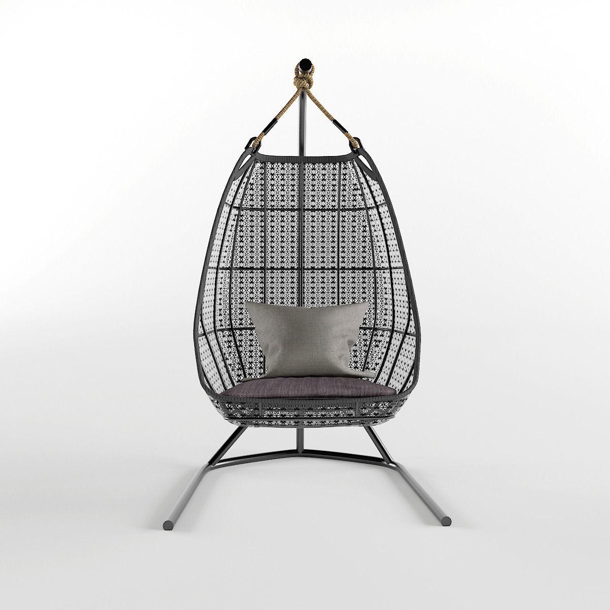 Ordinaire ... Garden Hanging Chair 3d Model Max Obj Fbx Mtl 3 ...